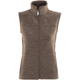 Ivanhoe of Sweden Beata Vest Women dark kakhi